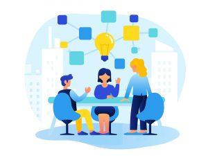 Teamwork and Brainstorming